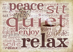 peace-and-quiet-typography-terry-fleckney