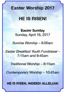 Easter Worship 2017